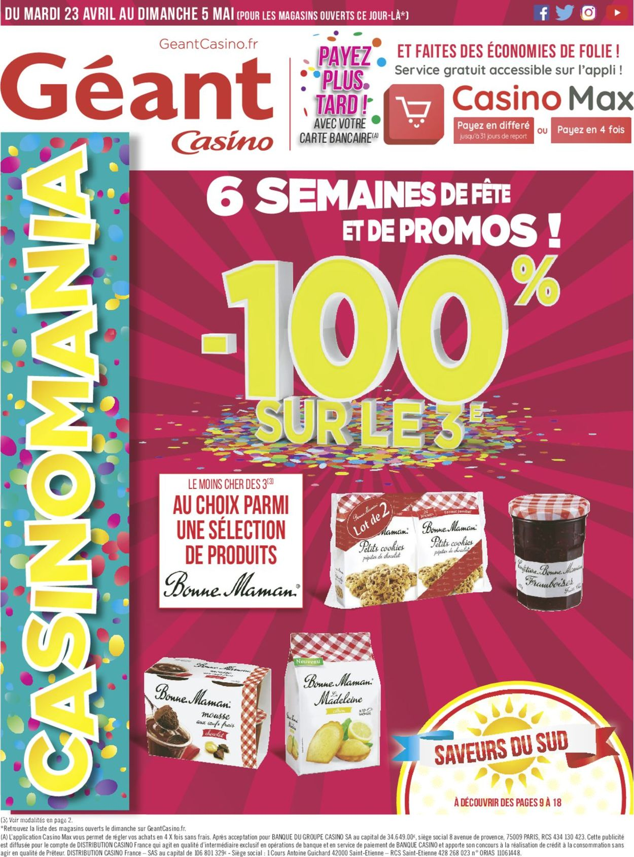 Géant Casino Catalogue - 23.04-05.05.2019