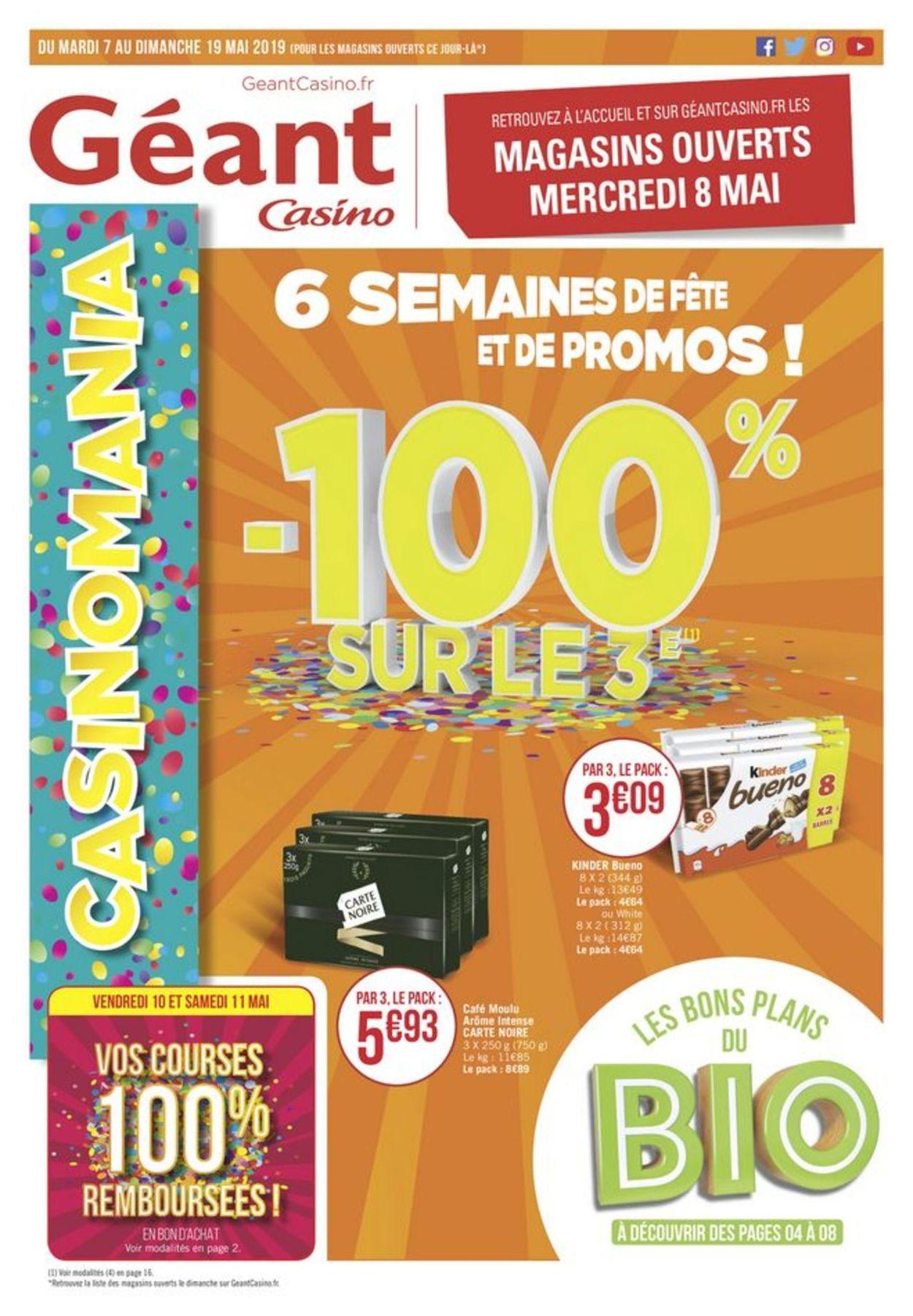 Géant Casino Catalogue - 07.05-19.05.2019