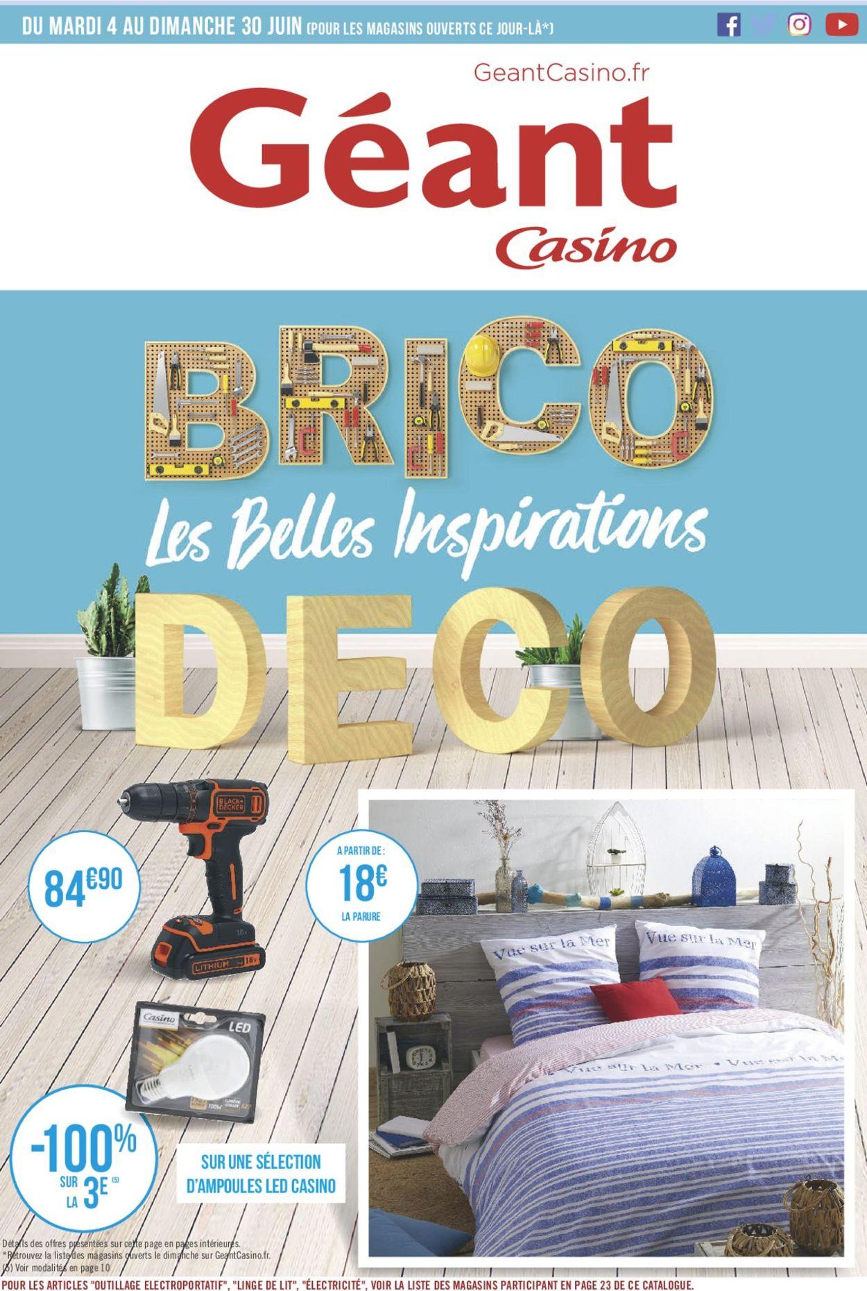 Géant Casino Catalogue - 04.06-30.06.2019