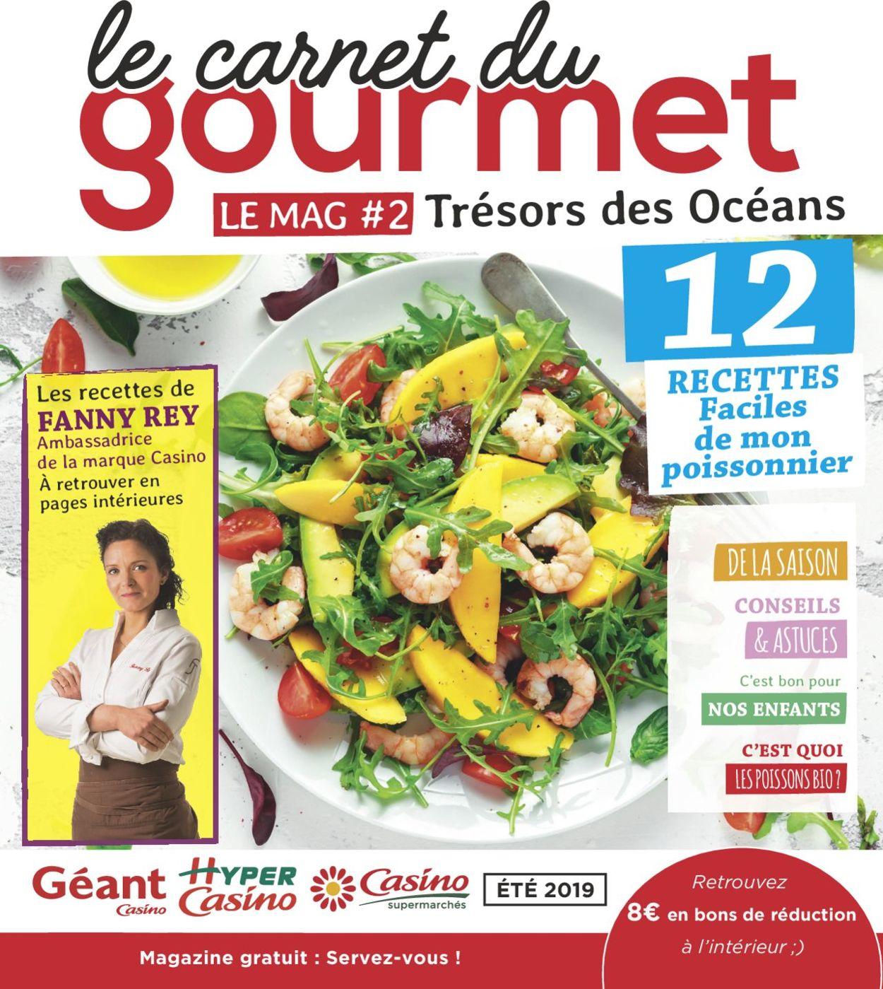 Géant Casino Catalogue - 01.06-31.08.2019