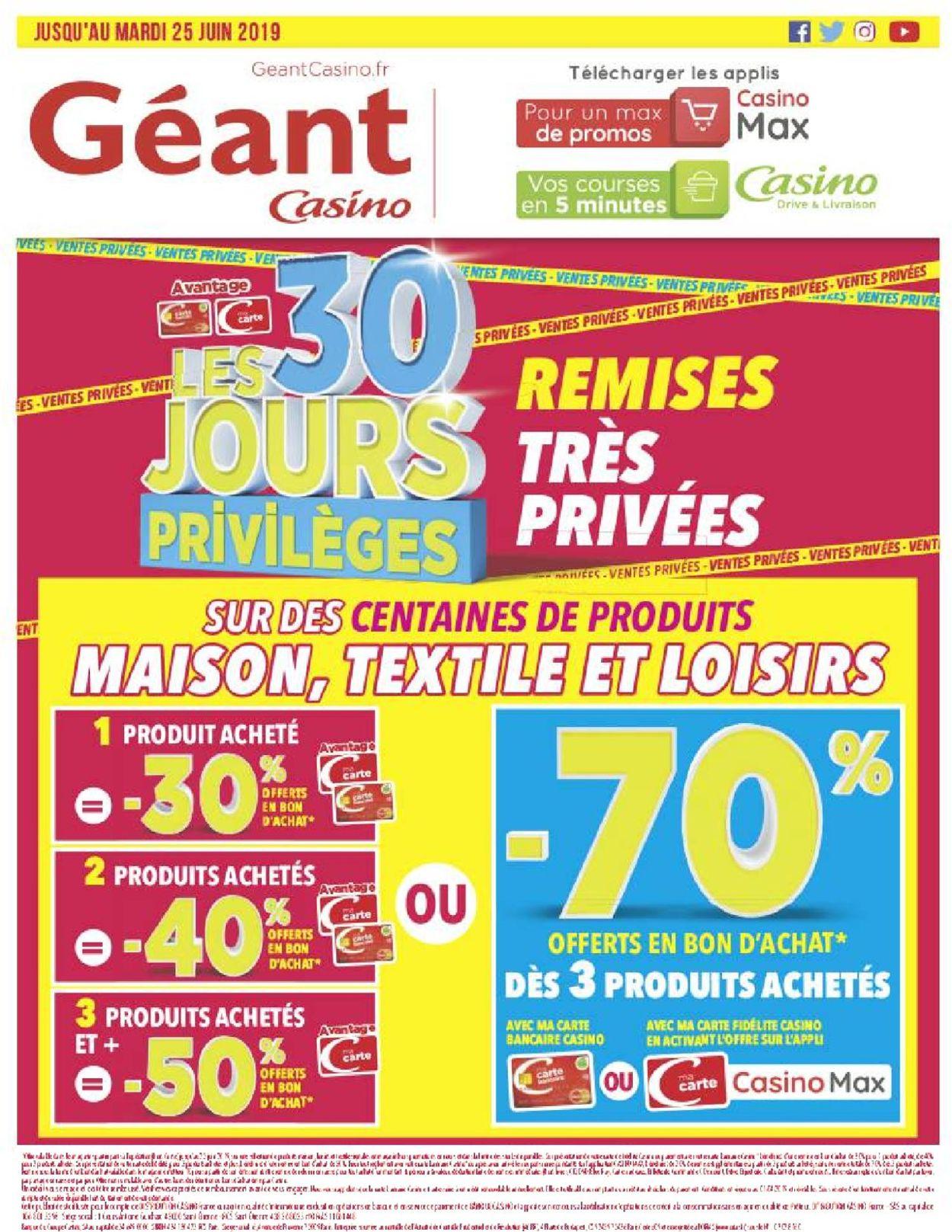 Géant Casino Catalogue - 18.06-30.06.2019 (Page 60)