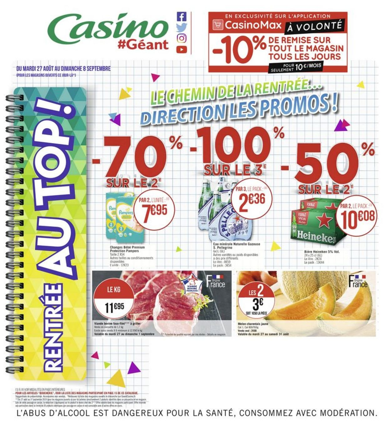 Géant Casino Catalogue - 27.08-08.09.2019