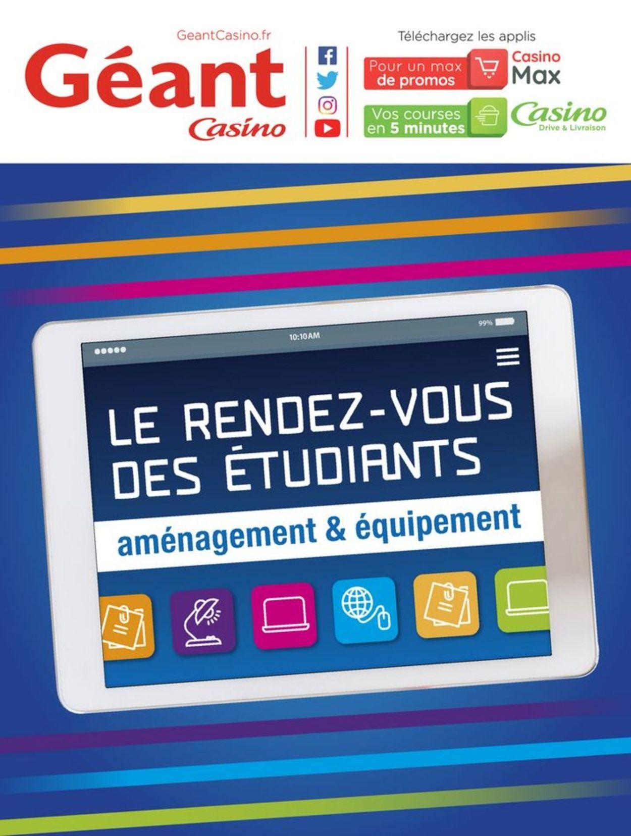 Géant Casino Catalogue - 26.08-22.09.2019