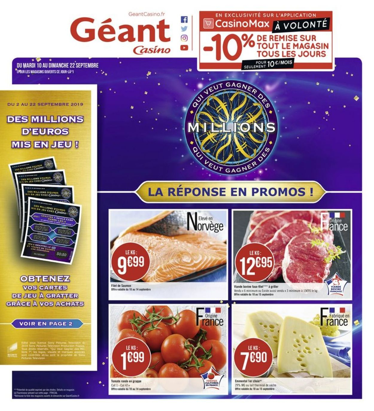 Géant Casino Catalogue - 09.09-22.09.2019