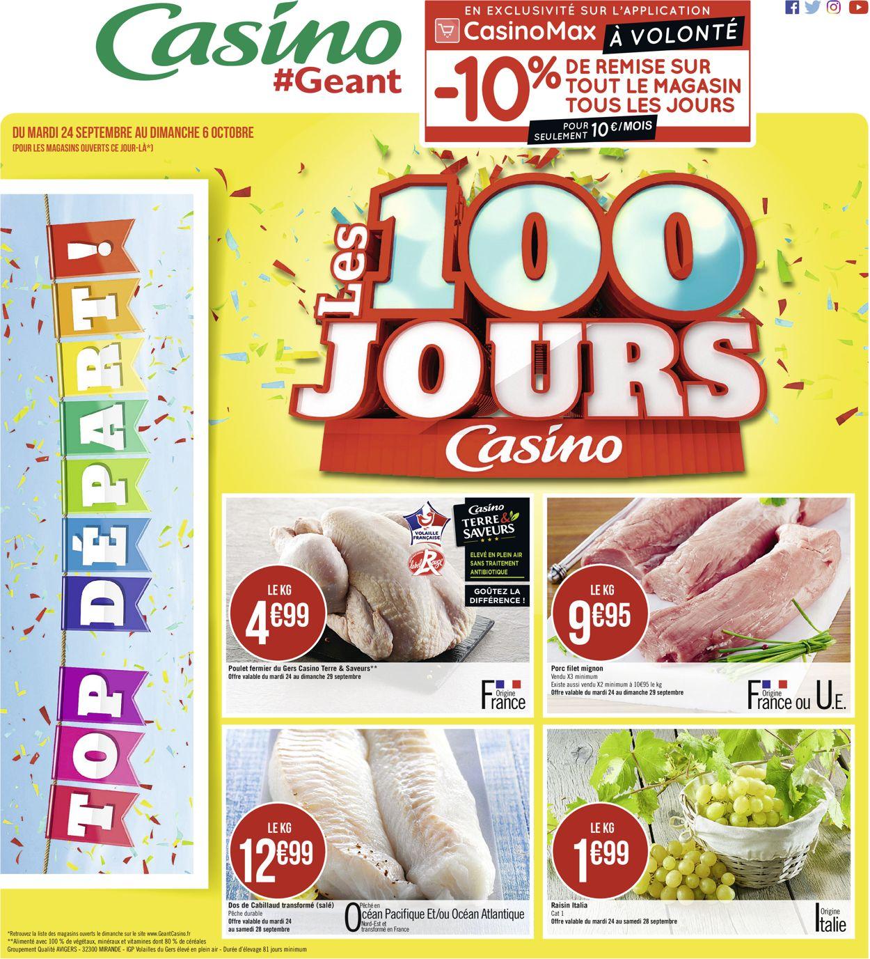Géant Casino Catalogue - 24.09-06.10.2019