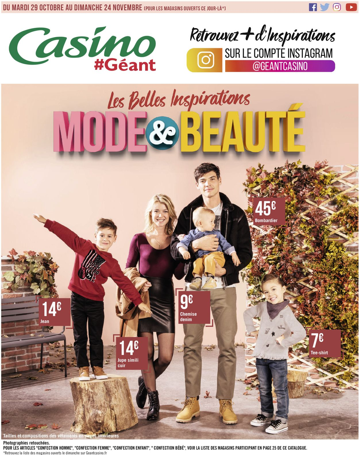 Géant Casino Catalogue - 29.10-24.11.2019