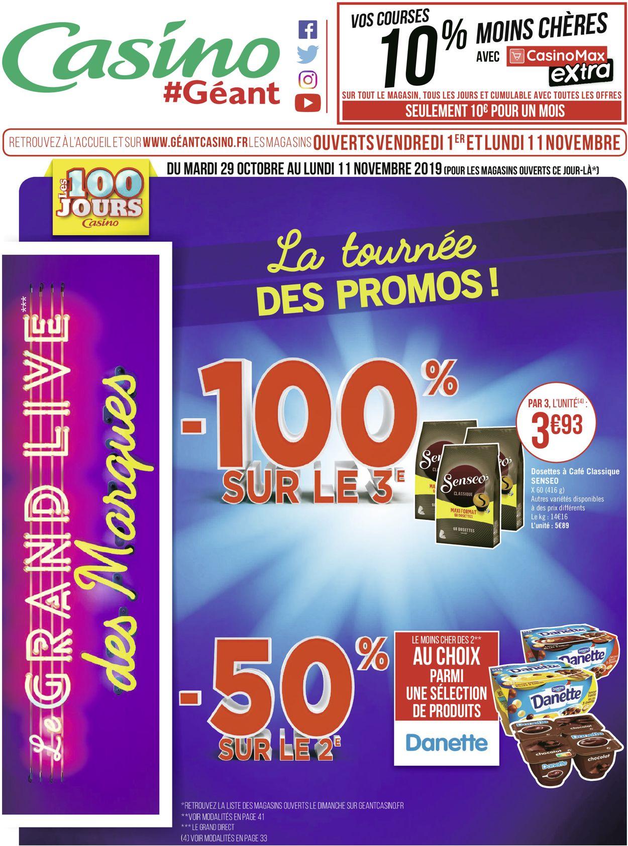 Géant Casino Catalogue - 29.10-11.11.2019