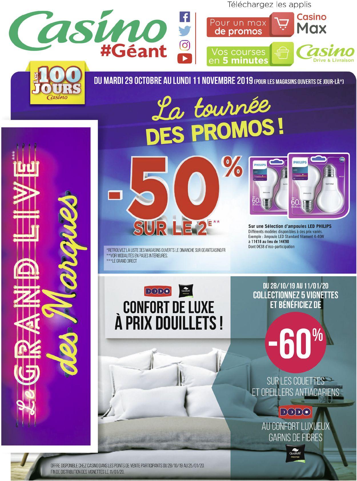 Géant Casino Catalogue - 29.10-11.11.2019 (Page 72)