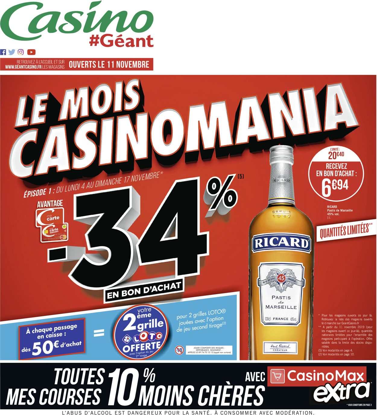 Géant Casino Catalogue - 04.11-11.11.2019