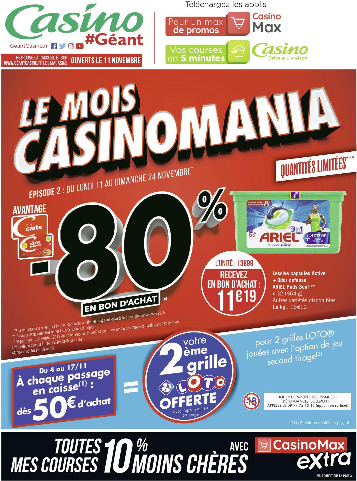 Géant Casino Catalogue - 11.11-24.11.2019