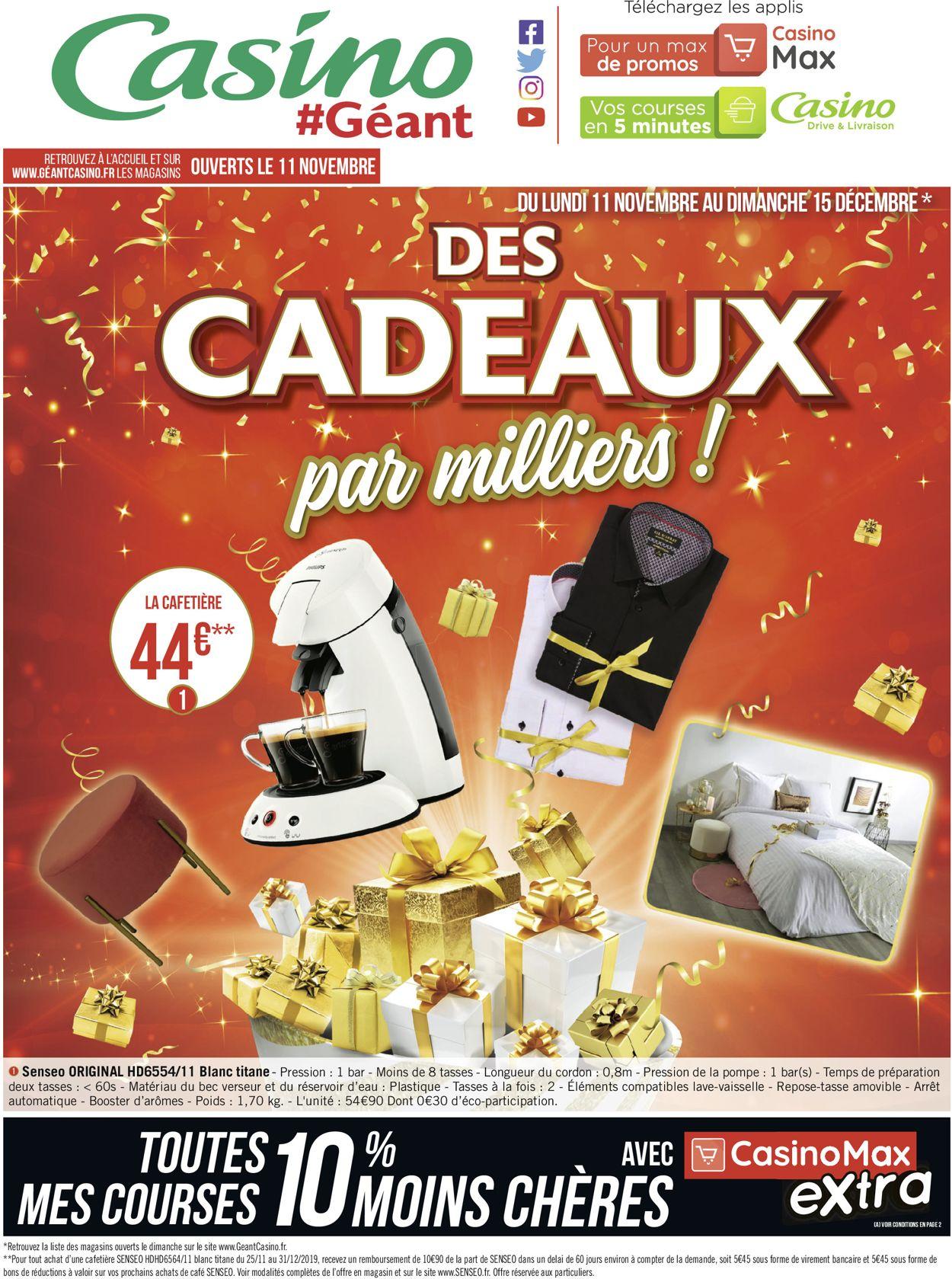 Géant Casino Catalogue - 11.11-15.12.2019