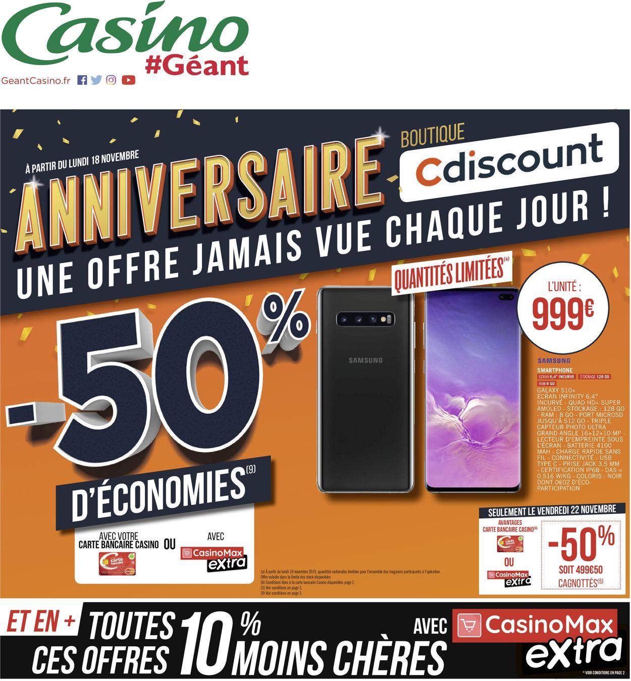 Géant Casino Catalogue - 18.11-24.11.2019