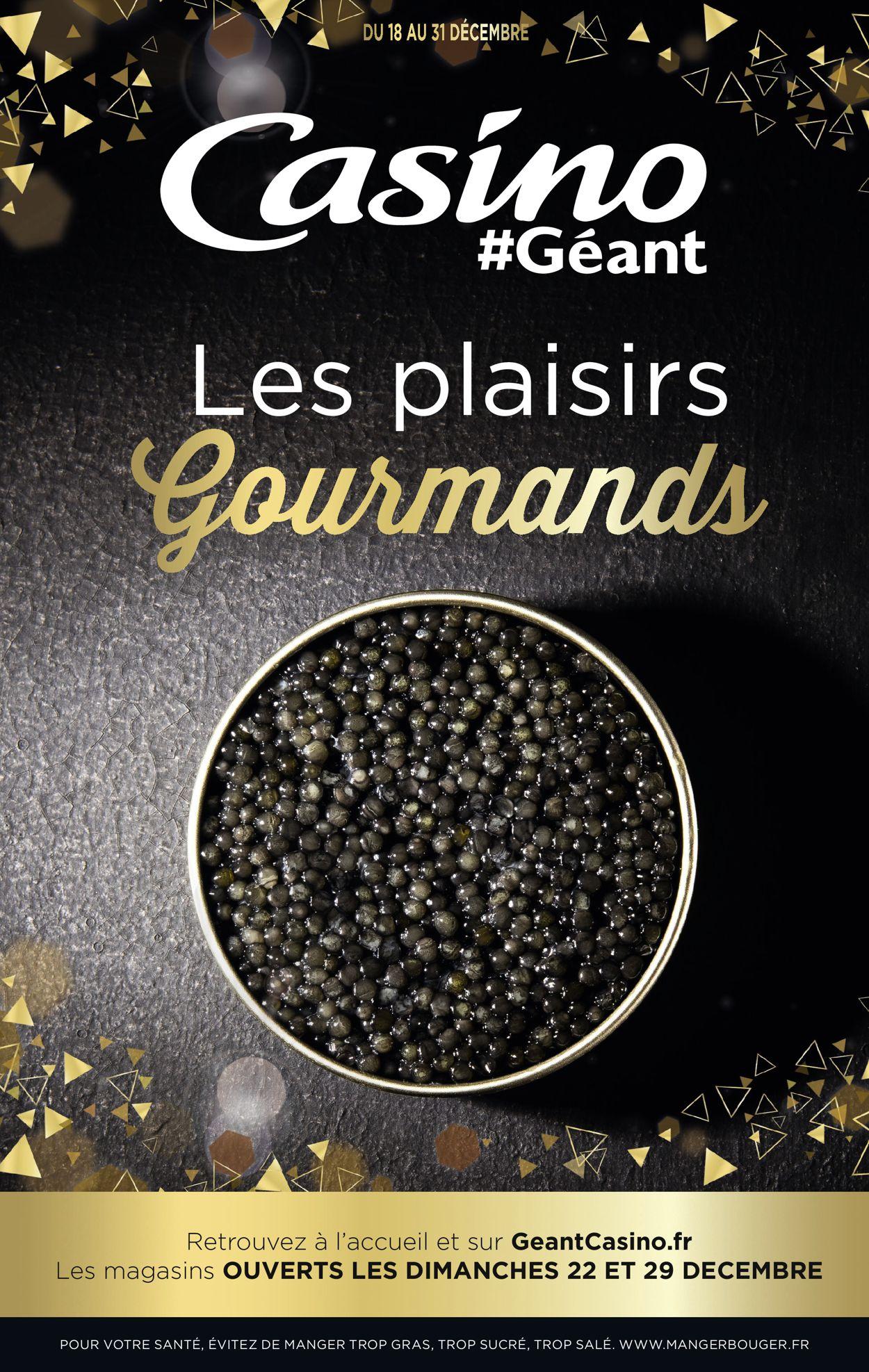 Géant Casino catalogue de Noël 2019 Catalogue - 18.12-31.12.2019