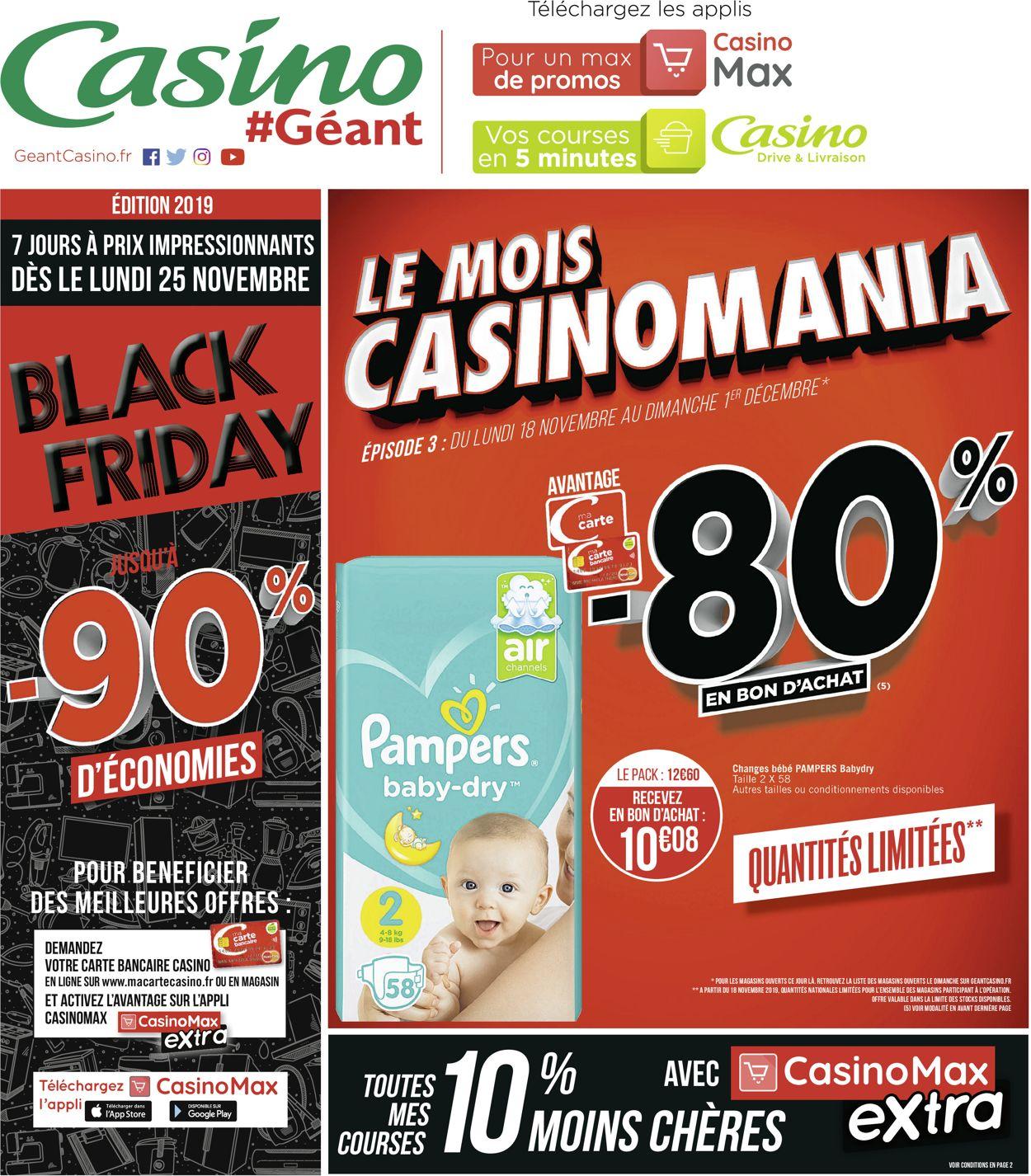 Géant Casino Catalogue - 18.11-01.12.2019