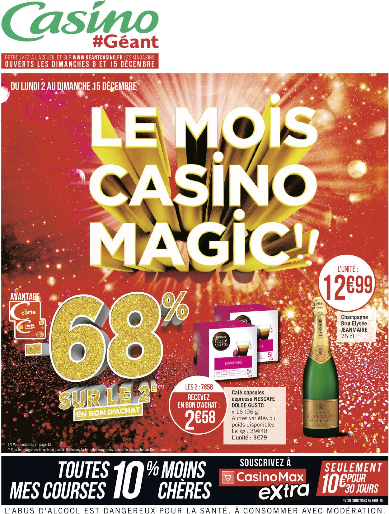 Géant Casino Catalogue - 02.12-15.12.2019
