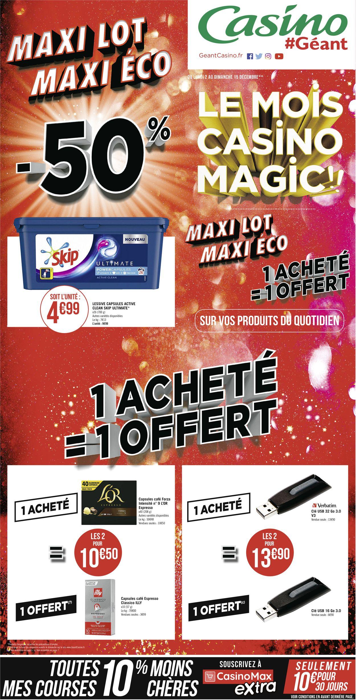 Géant Casino Catalogue - 02.12-15.12.2019