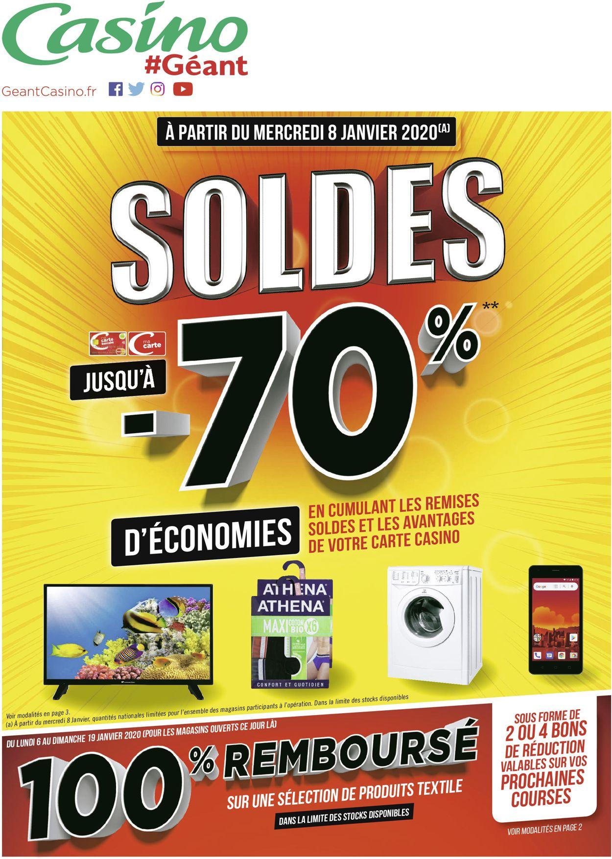 Géant Casino Catalogue - 06.01-19.01.2020