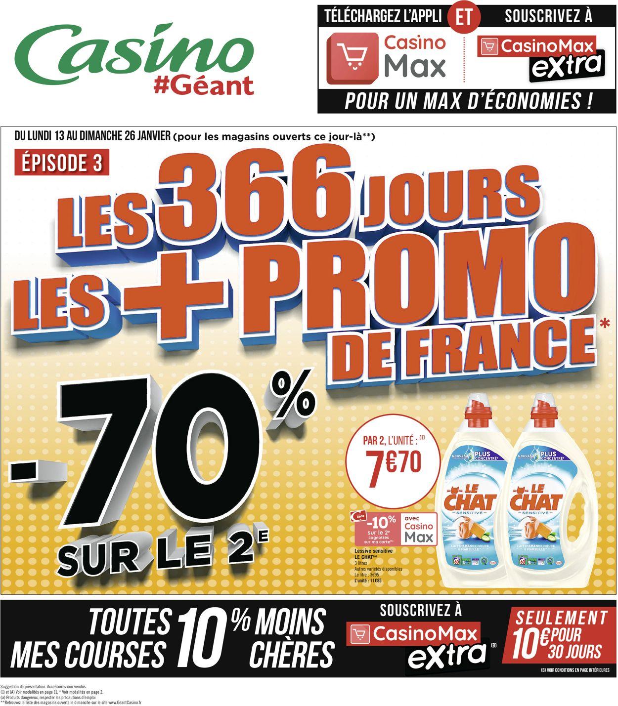 Géant Casino Catalogue - 13.01-26.01.2020