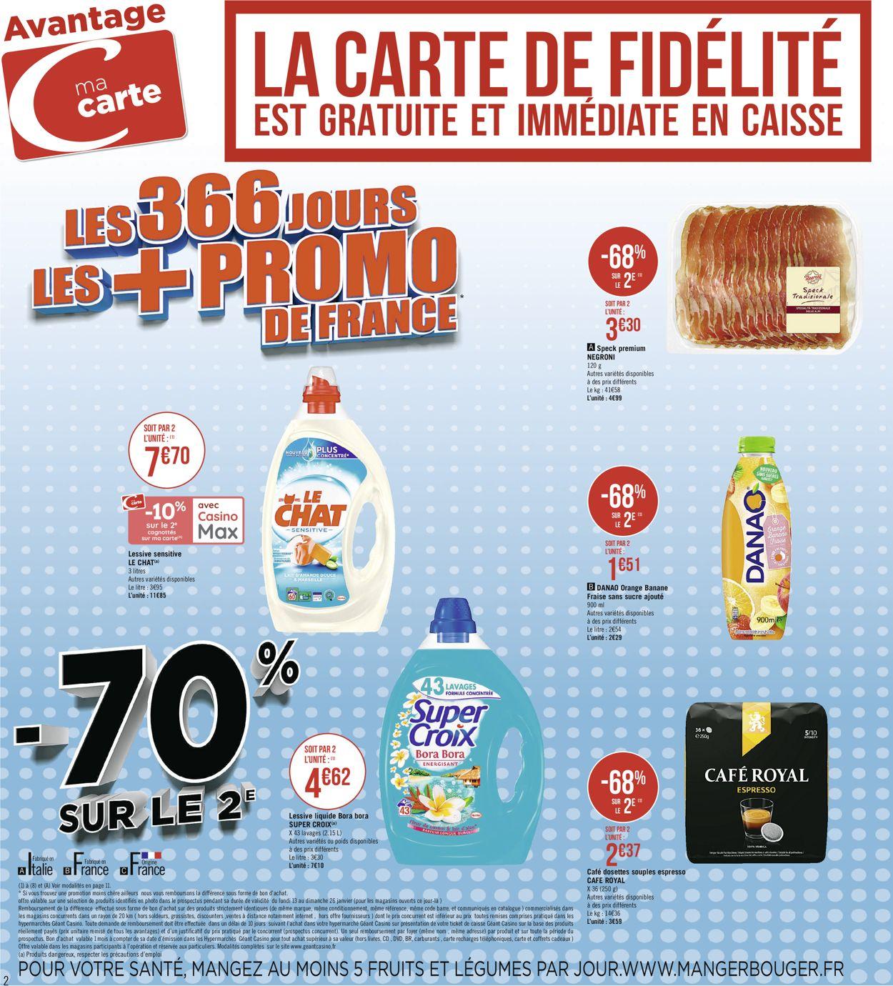 Géant Casino Catalogue - 13.01-26.01.2020 (Page 2)