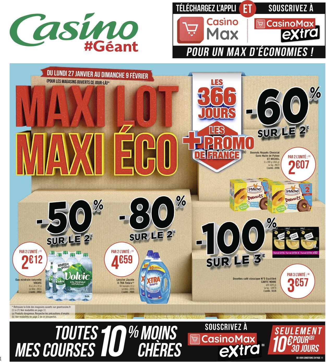 Géant Casino Catalogue - 27.01-09.02.2020