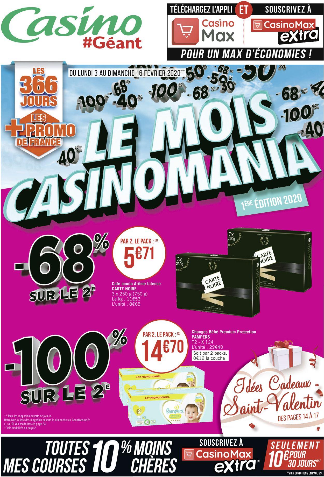 Géant Casino Catalogue - 03.02-16.02.2020