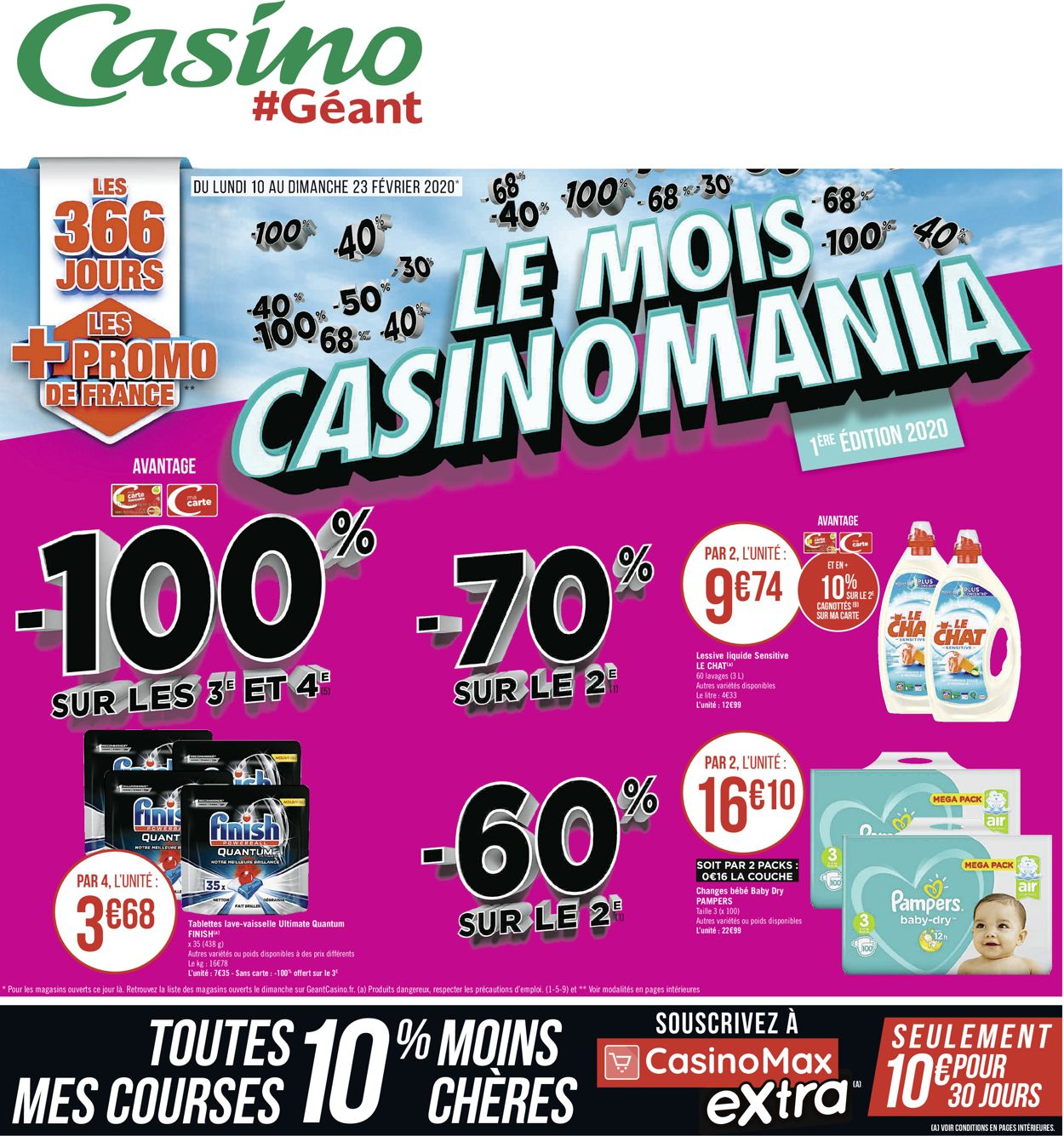Géant Casino Catalogue - 10.02-23.02.2020