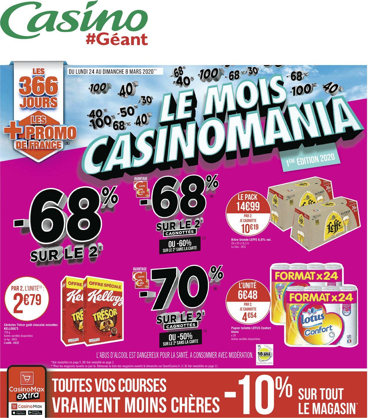 Géant Casino Catalogue - 24.02-08.03.2020