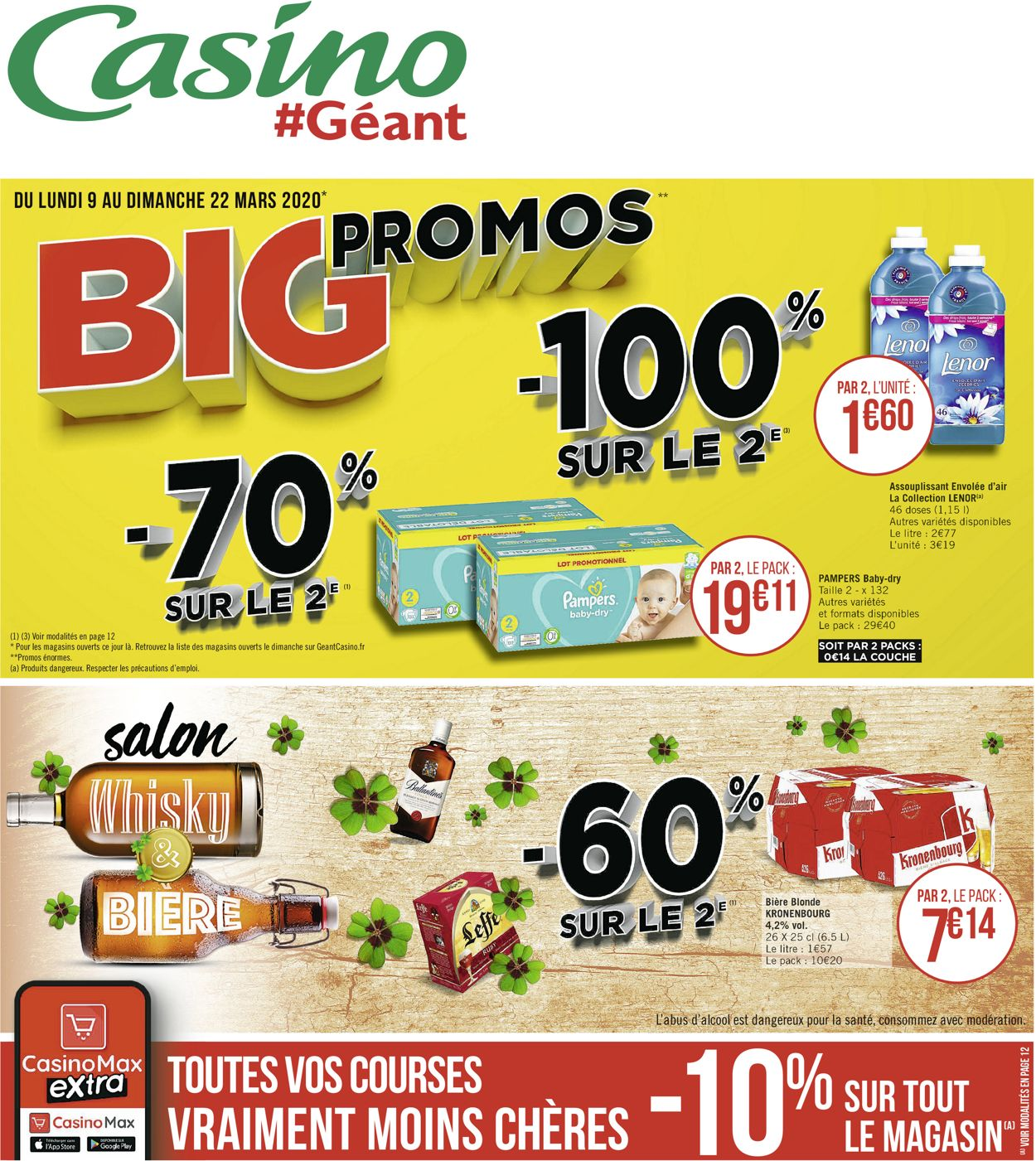 Géant Casino Catalogue - 09.03-22.03.2020