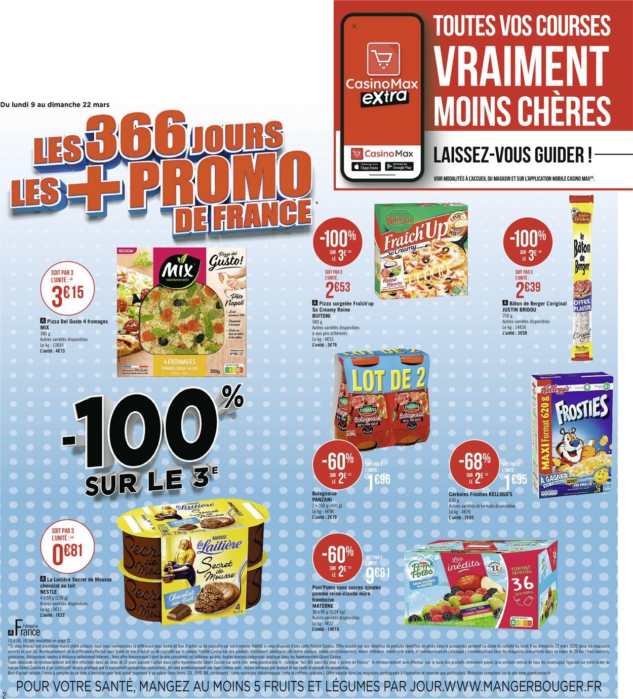 Géant Casino Catalogue - 09.03-22.03.2020 (Page 2)