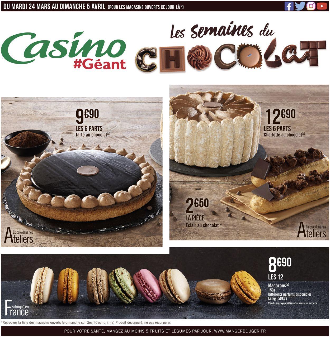 Géant Casino Catalogue - 24.03-05.04.2020