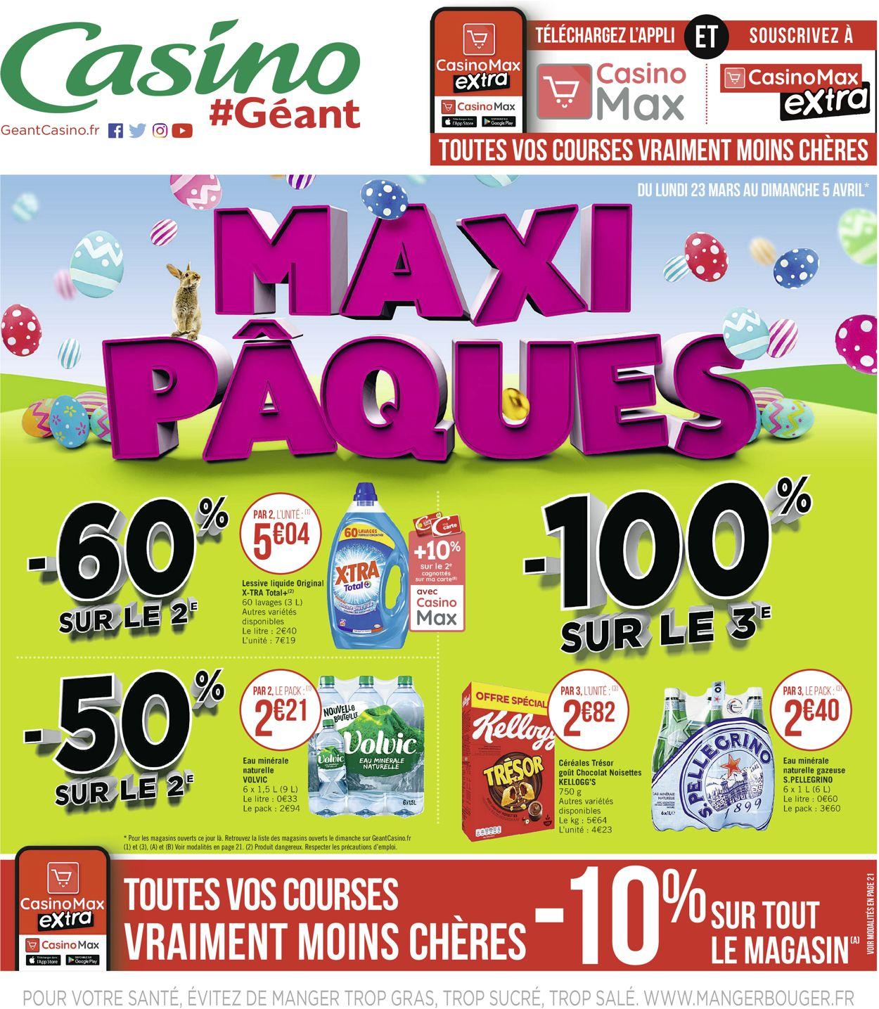 Géant Casino Catalogue - 23.03-05.04.2020