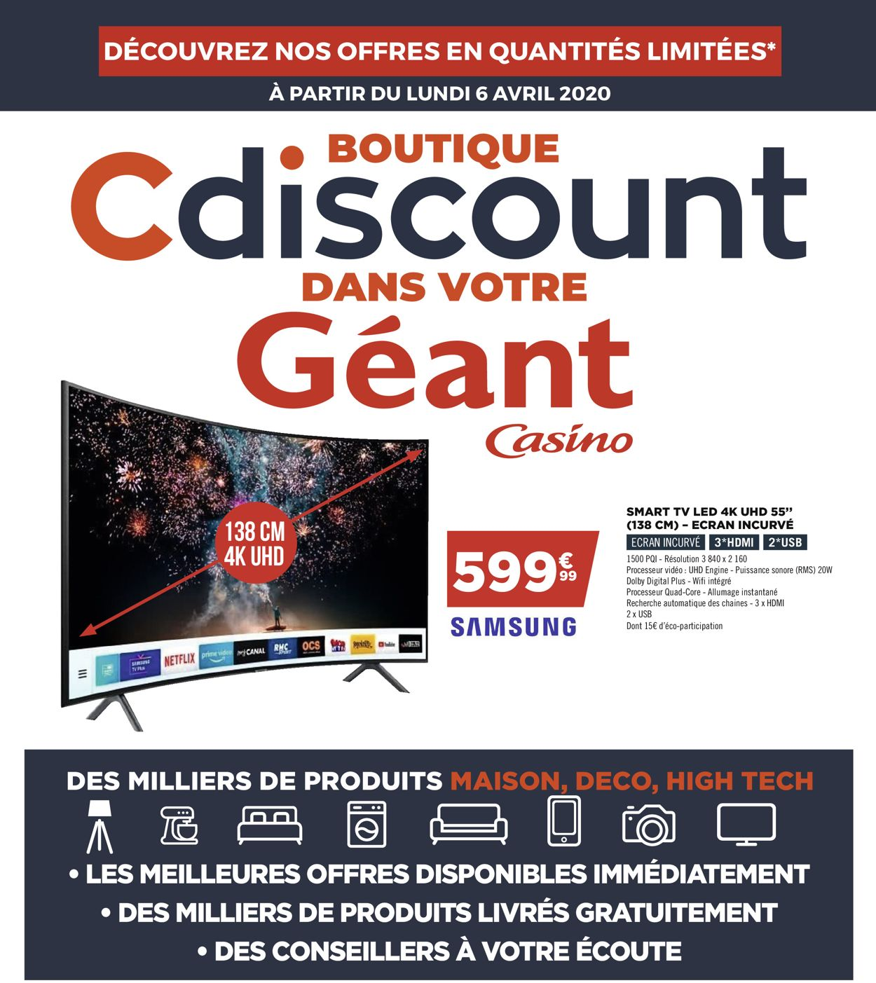 Géant Casino Catalogue - 06.04-12.04.2020