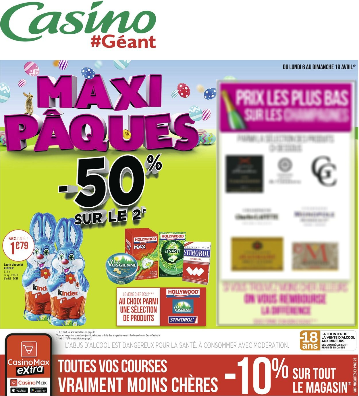 Géant Casino Catalogue - 06.04-19.04.2020
