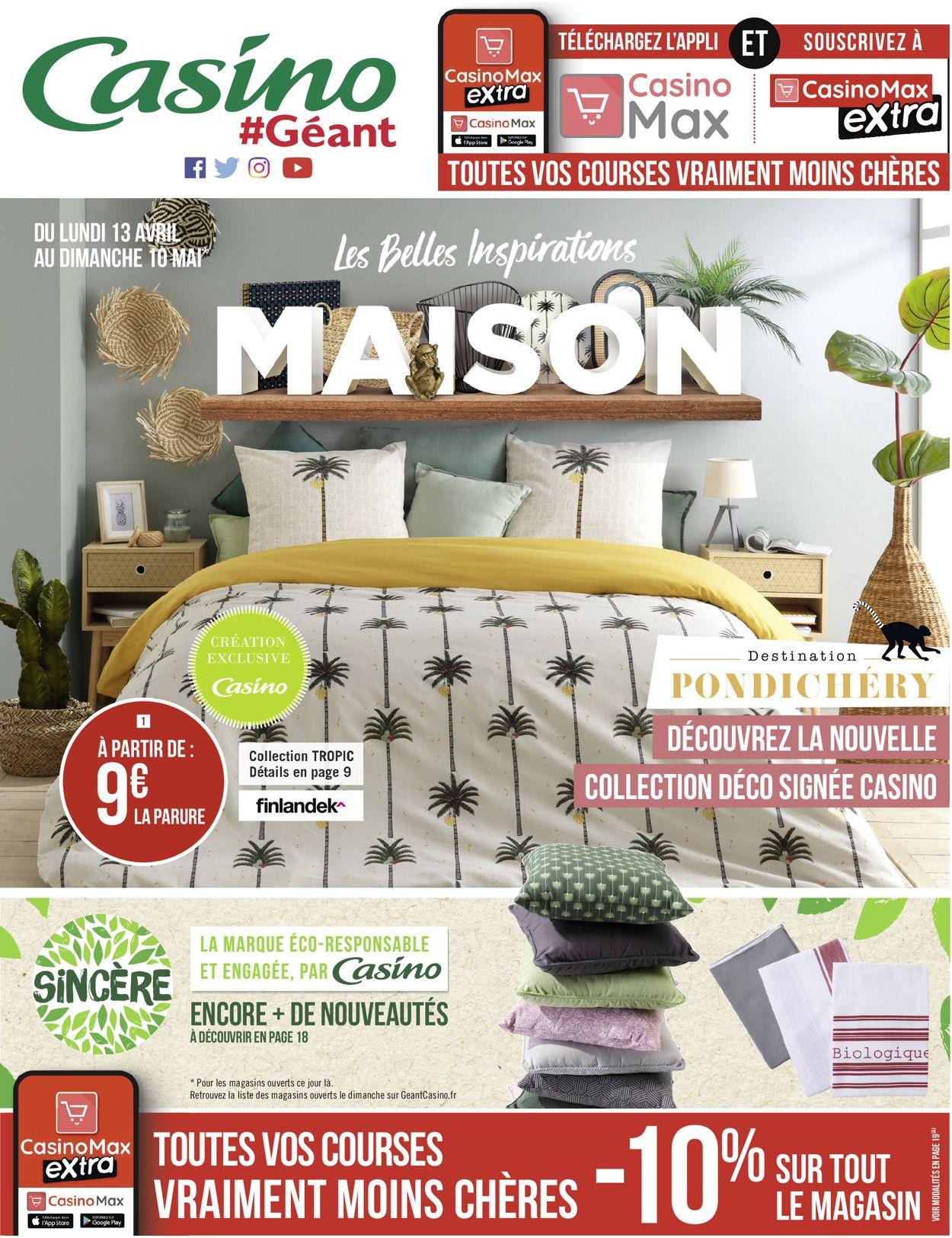 Géant Casino Catalogue - 13.04-10.05.2020