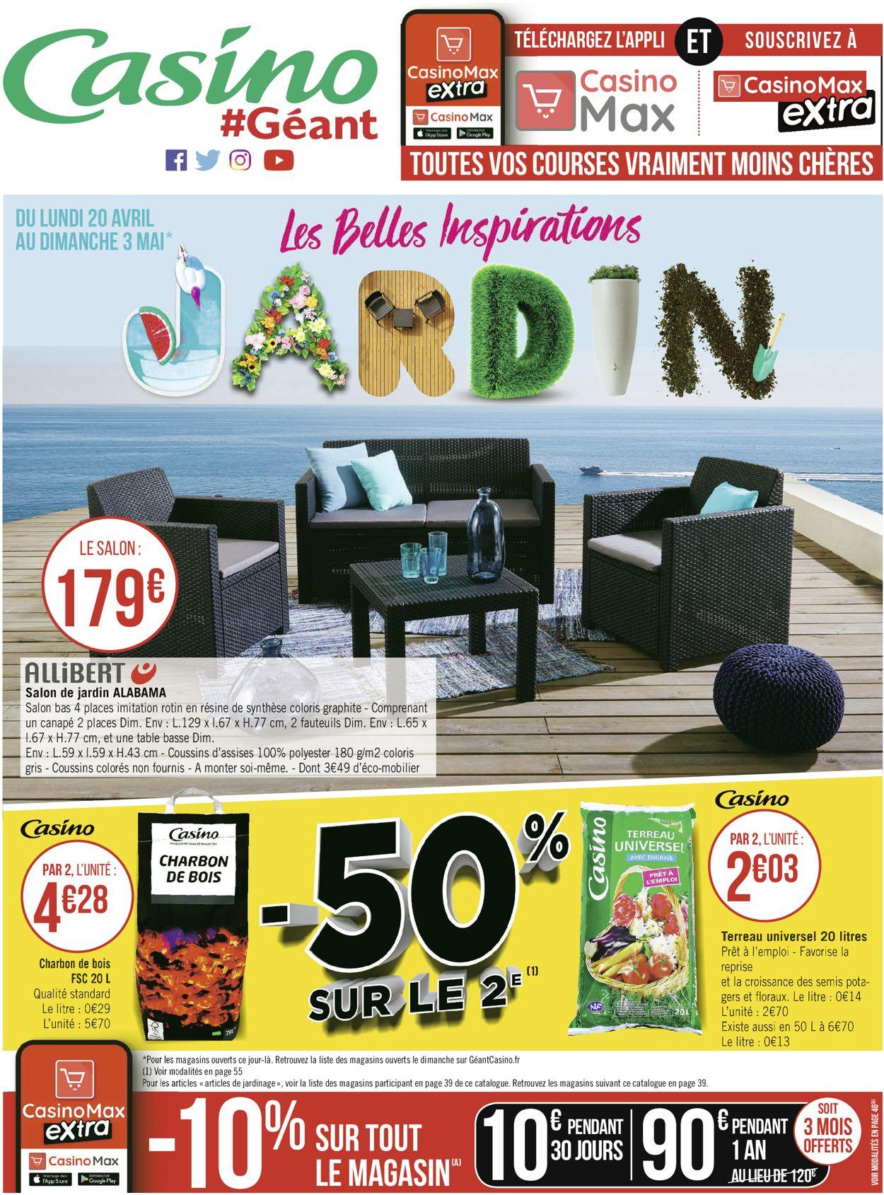 Géant Casino Catalogue - 20.04-03.05.2020 (Page 56)