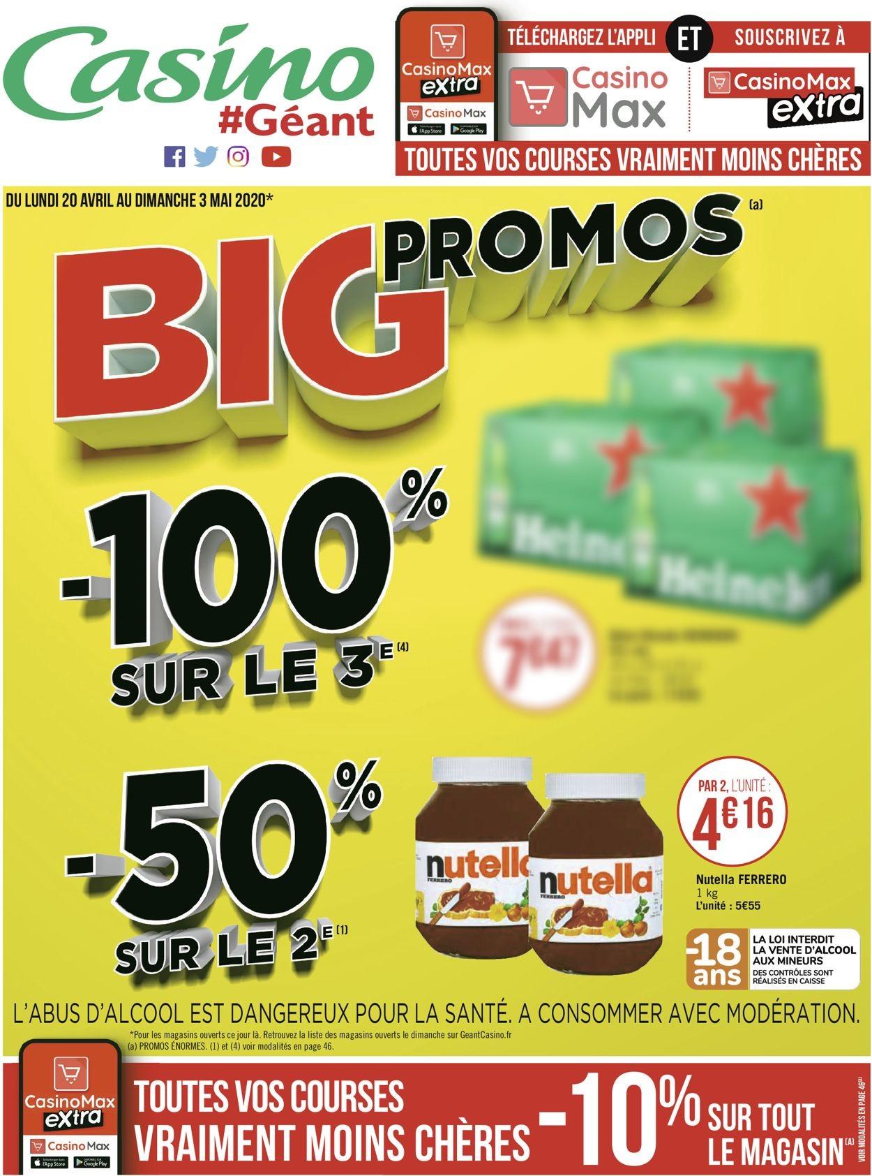 Géant Casino Catalogue - 20.04-03.05.2020