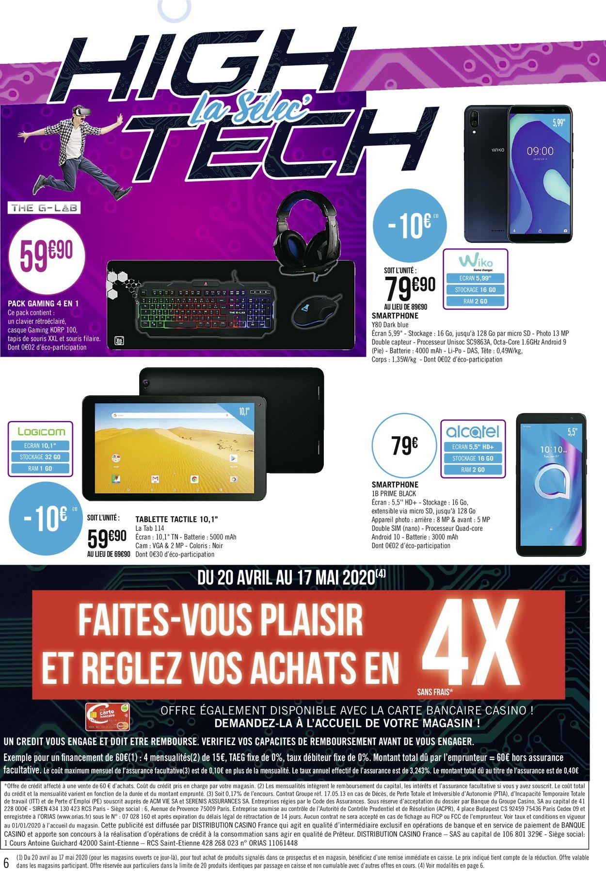 Géant Casino Catalogue - 20.04-17.05.2020 (Page 6)