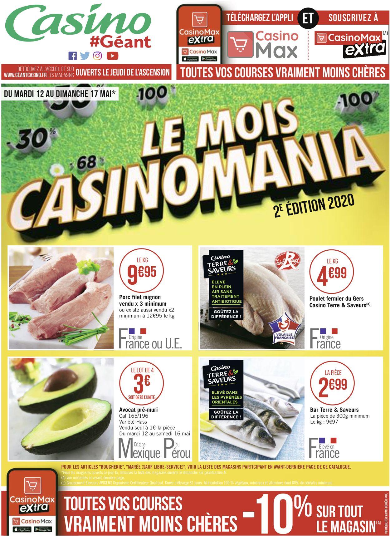 Géant Casino Catalogue - 12.05-17.05.2020