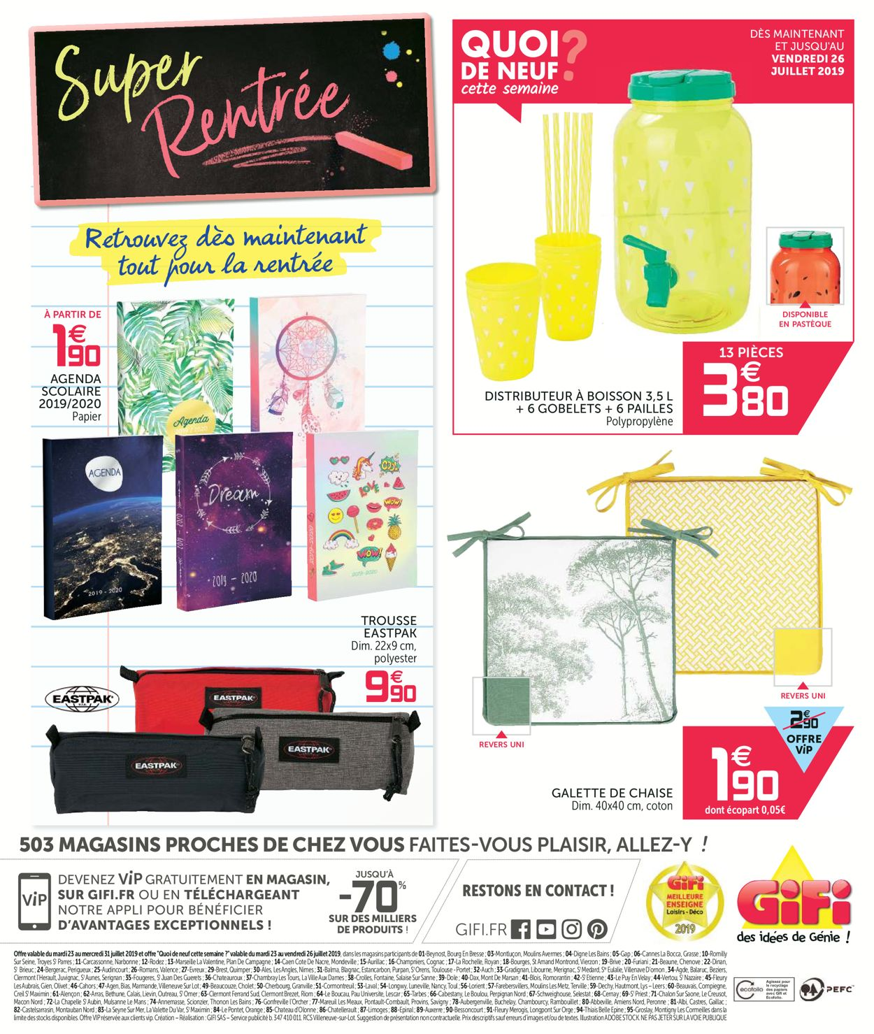 GiFi Catalogue - 23.07-31.07.2019 (Page 24)