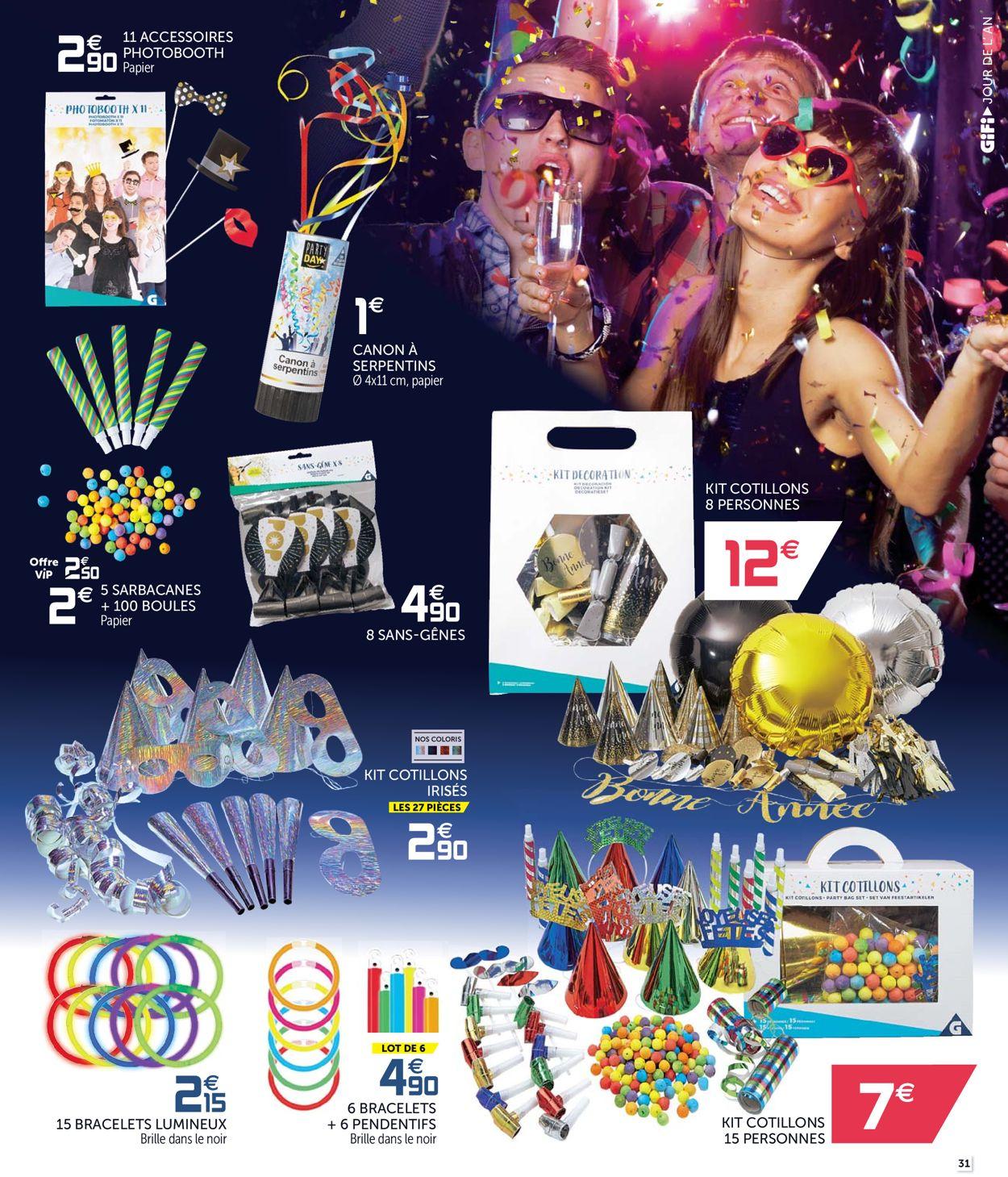 GiFi catalogue de Noël 2019 Catalogue - 10.12-18.12.2019 (Page 31)