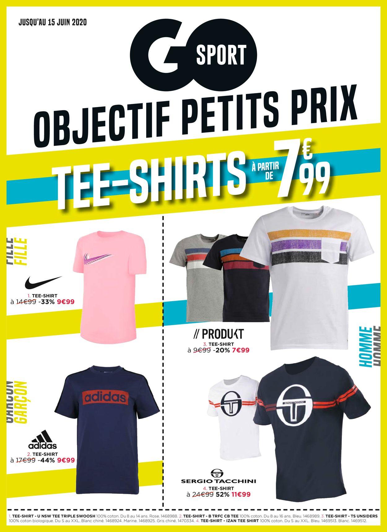 Go Sport Catalogue - 27.05-15.06.2020