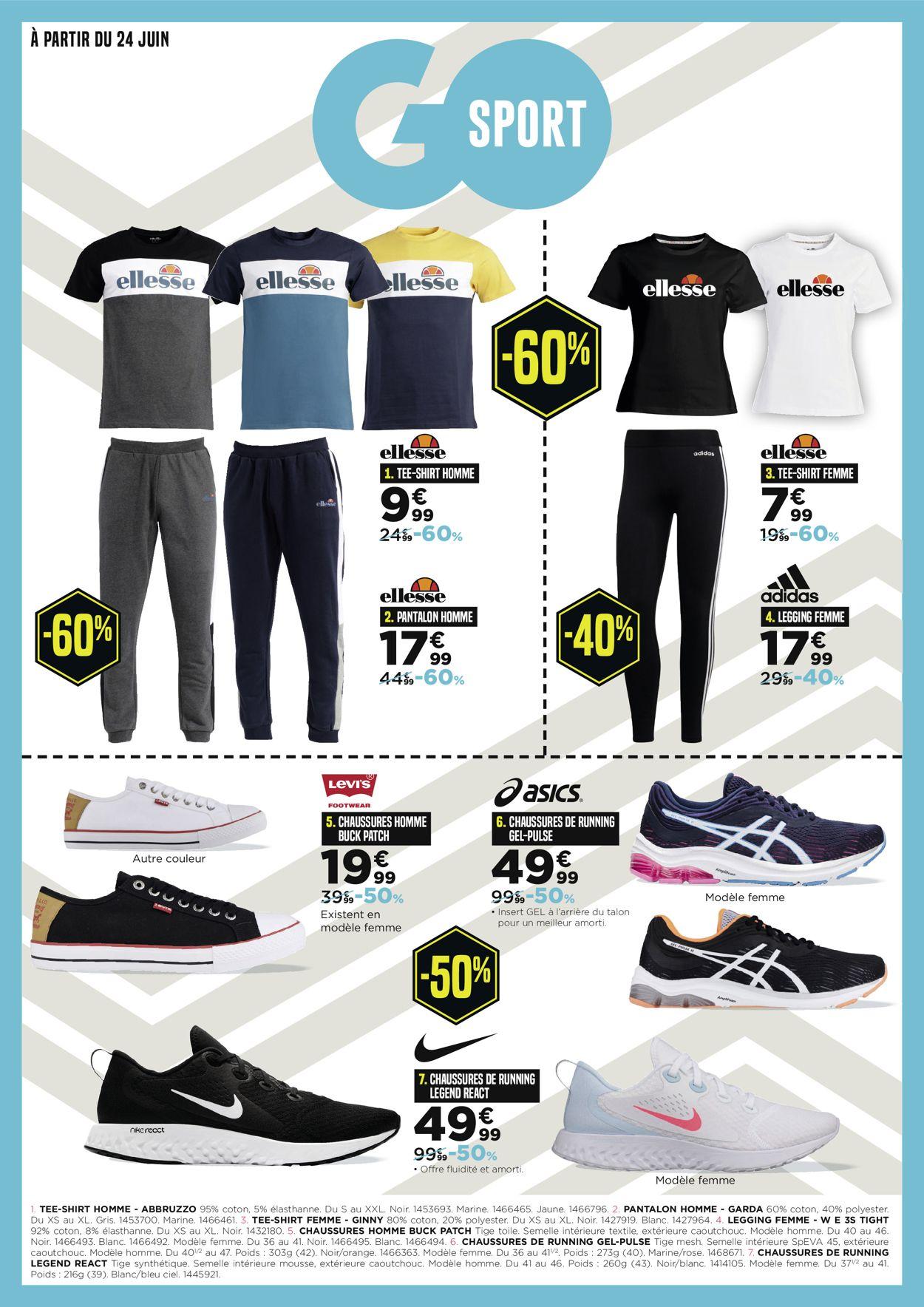 Go Sport Catalogue - 24.06-14.07.2020