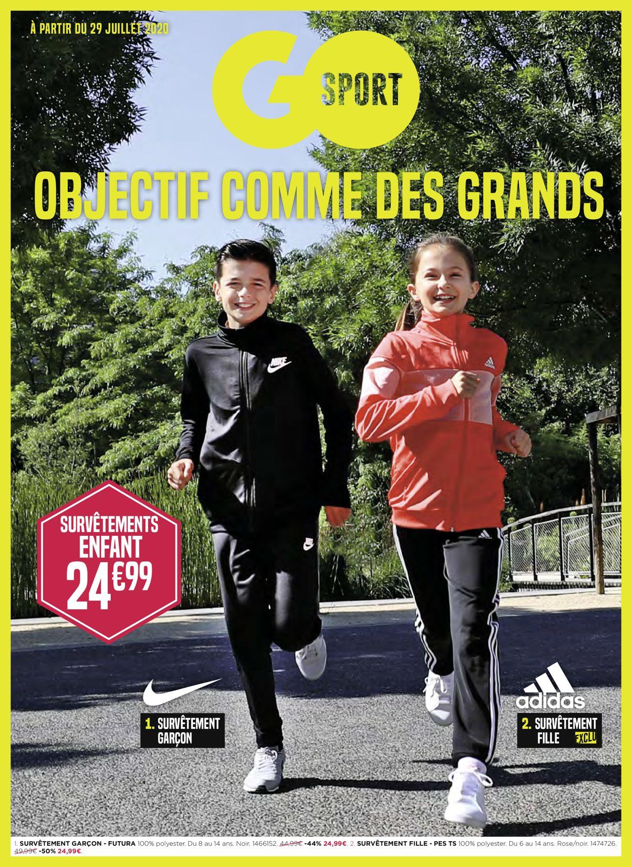 Go Sport Catalogue - 29.07-24.08.2020