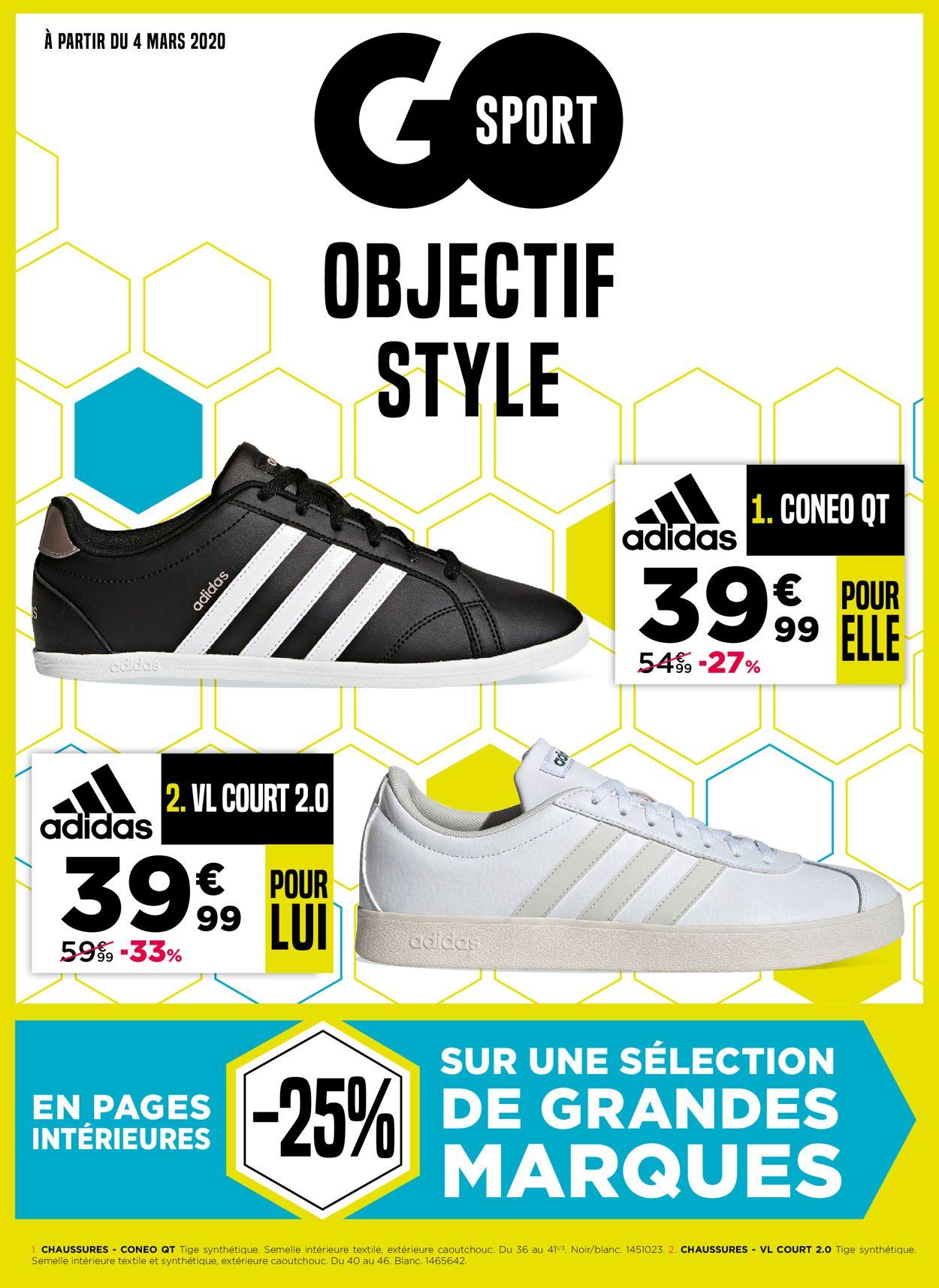 Go Sport Catalogue - 04.03-16.03.2020