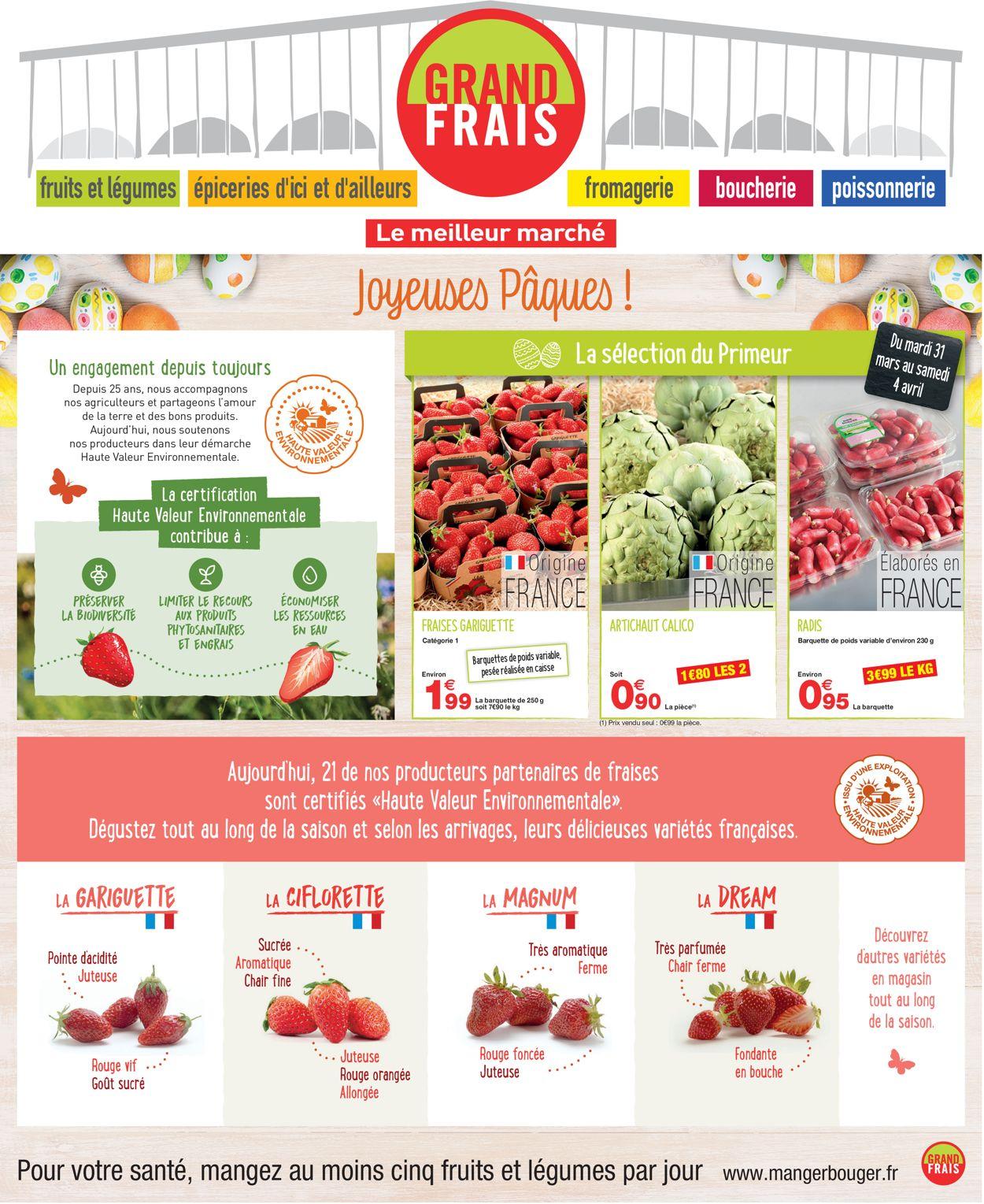 Grand Frais Catalogue - 31.03-04.04.2020
