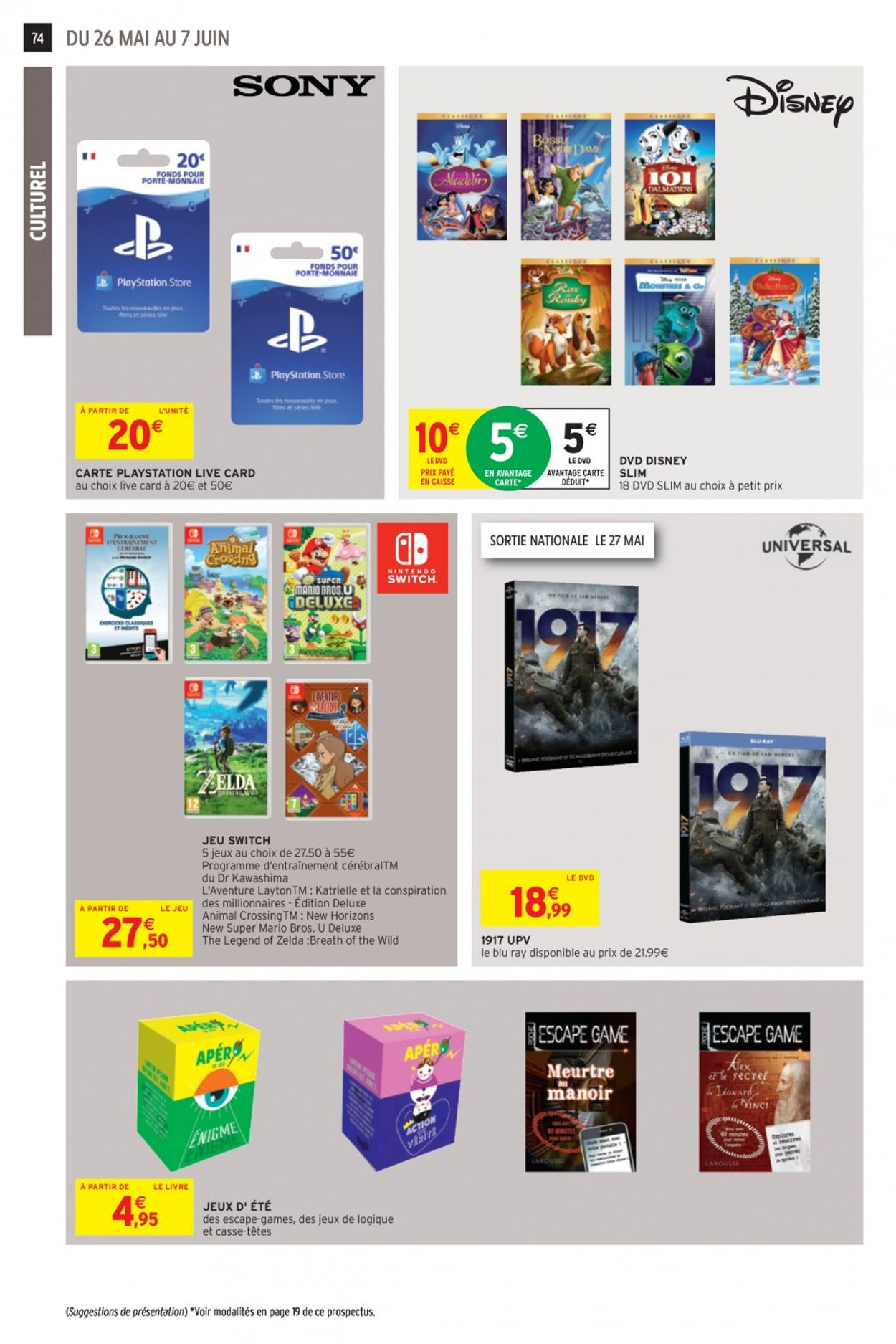 Intermarché Catalogue - 26.05-07.06.2020 (Page 71)