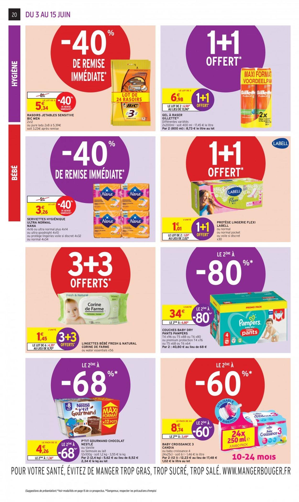 Intermarché Catalogue - 03.06-15.06.2020 (Page 20)