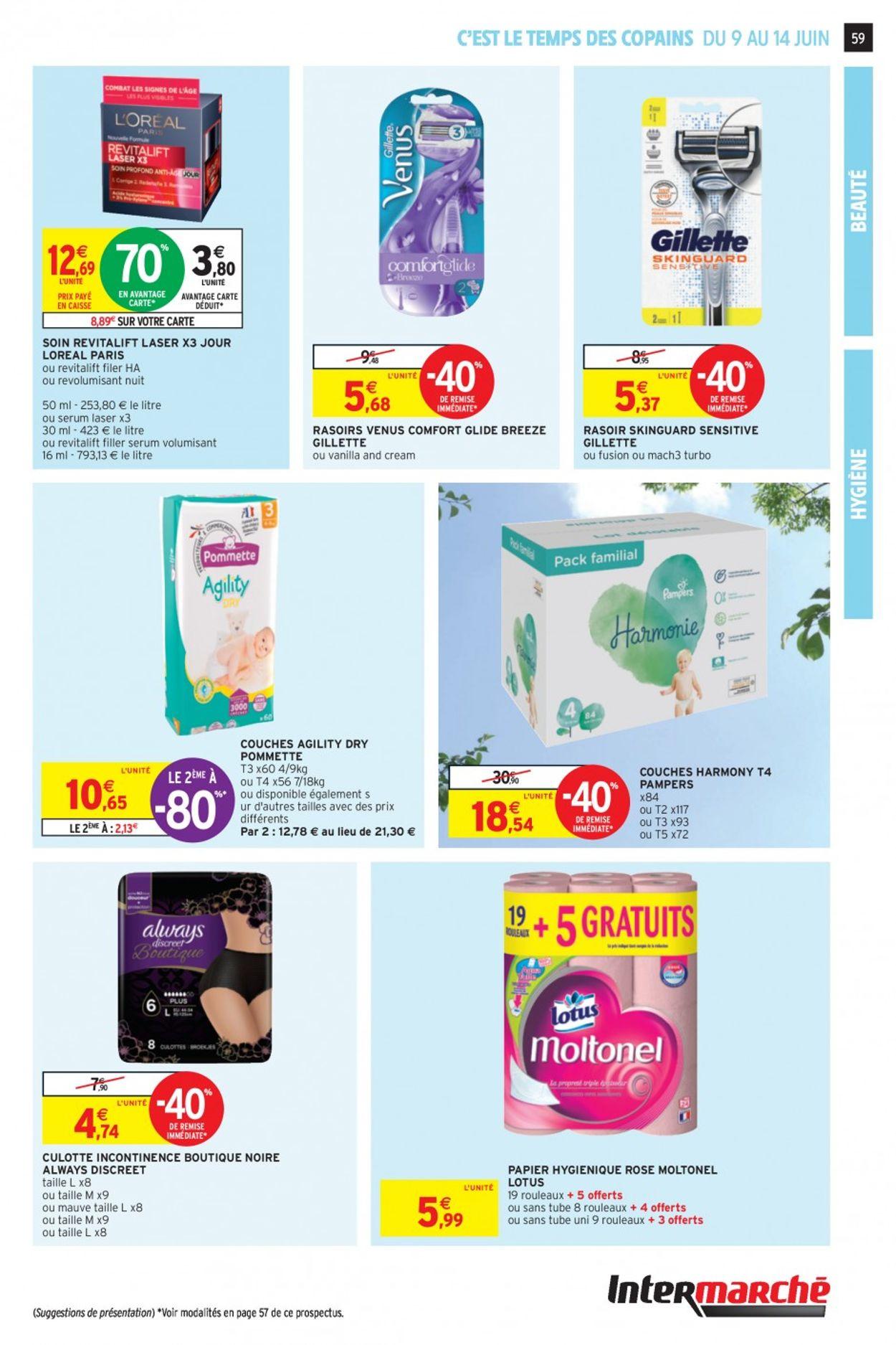 Intermarché Catalogue - 09.06-14.06.2020 (Page 58)