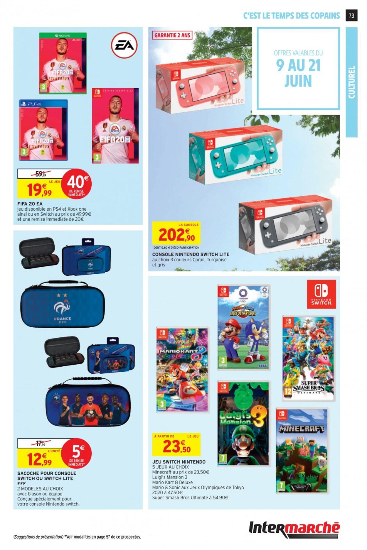 Intermarché Catalogue - 09.06-14.06.2020 (Page 72)