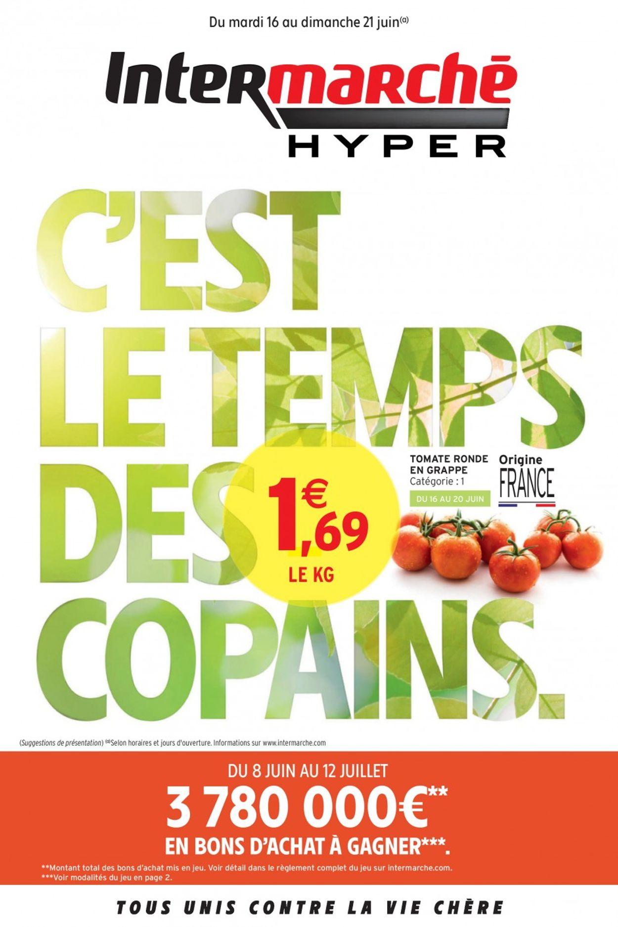 Intermarché Catalogue - 16.06-21.06.2020